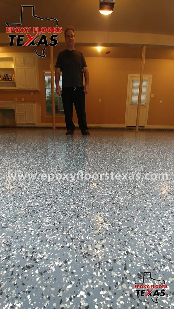 Epoxy Garage Floor Texas Flake Flooring