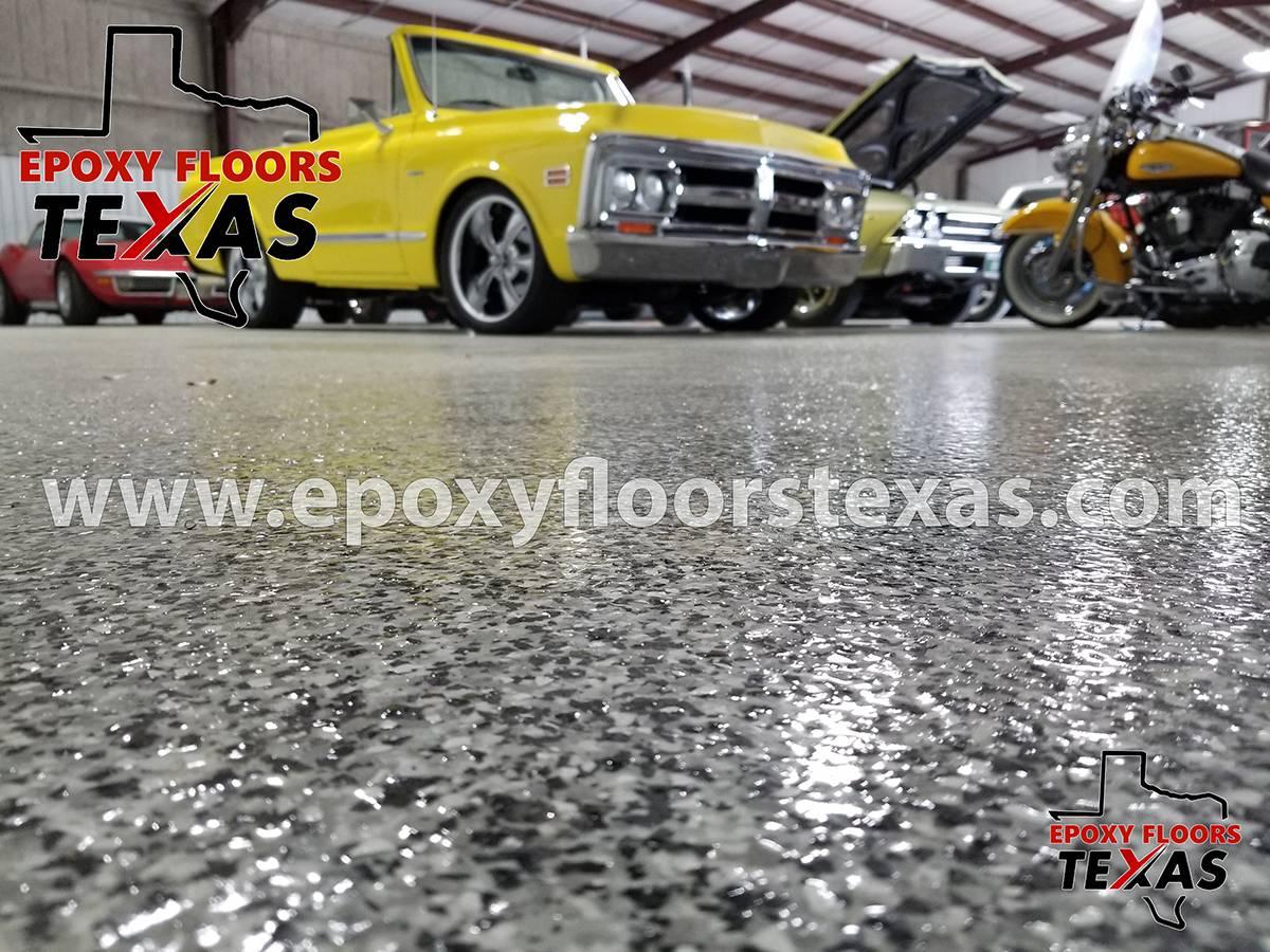 Epoxy Garage Floor Texas Flake Flooring