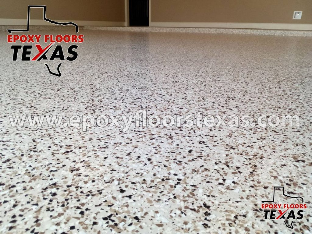 Epoxy Garage Floor Texas Pallet Tan