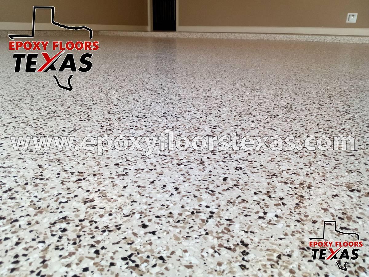 Epoxy Garage Floor Texas Pallet Tan